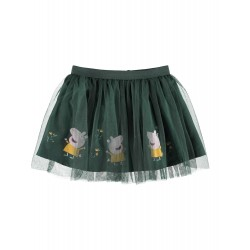 NAME IT MINI GURLI GRIS SKIRT