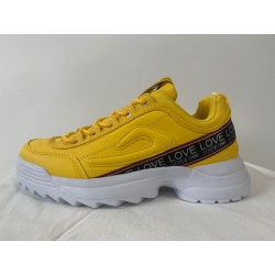 CHUNKY SNEAKERS YELLOW