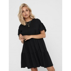 ONLY MAY S/S DRESS - BLACK