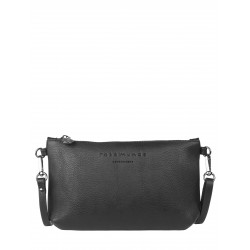 ROSAMUNDE CLUTCH - BLACK/OXID