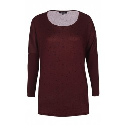ZE-ZE L/S BLOUSE - PORT ROYAL