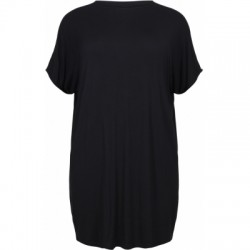 NO.1 BY OX LOOSE TUNIC - BLACK