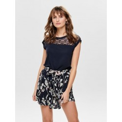 ONLY NICOLE S/S MIX TOP