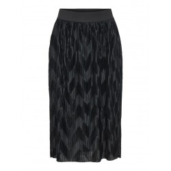 JDY MACI PLEATED SKIRT - BLACK