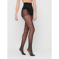ONLY DOT 20 DEN TIGHTS - BLACK