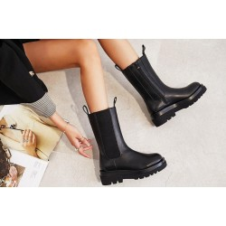 CHUNKY BOOTS - BLACK