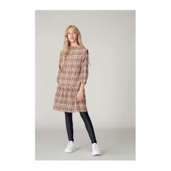 LMTD SANNE L/S DRESS - THRUSH