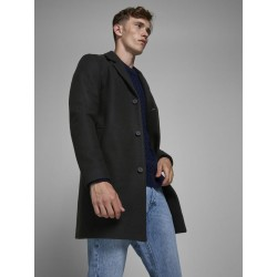 JACK & JONES LIAM COAT - BLACK