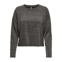 ONLY KAYLEE L/S TOP - MULCH