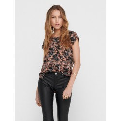 ONLY VIC S/S TOP - BLACK