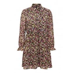 ONLY INGRID L/S SHORT DRESS