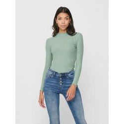 ONLY EMMA L/S HIGH NECK TOP...