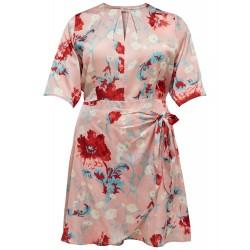 ONLY CARMAKOMA FLORA 3/4 DRESS