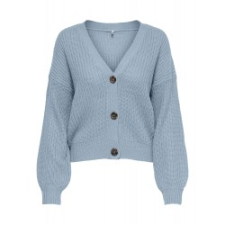 ONLY NANNA CARDIGAN - BLUE FOG