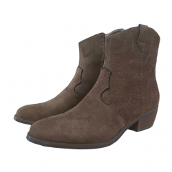 WESTERN BOOTS - BROWN