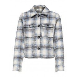 ONLY SHORT CHECK JACKET