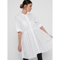 ONLY CHICAGO 3/4 DRESS - WHITE