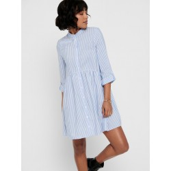 ONLY DITTE STRIPE 3/4 DRESS