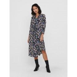 JDY PIPER L/S DRESS