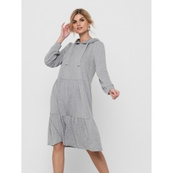 JDY SWEAT HODDIE DRESS L/S