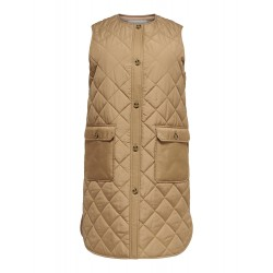 ONLY CARMAKOMA LONG QUILT VEST
