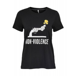 ONLY NON VIOLENCE S/S TOP