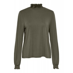 ONLY FREE L/S SMOCK TOP