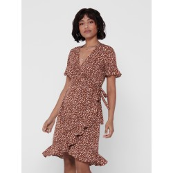 ONLY OLIVIA WRAP DRESS