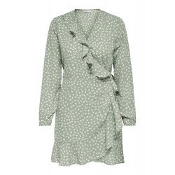 ONLY MONZOOM WRAP DRESS