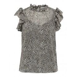 ONLY STAR S/L FRILL TOP