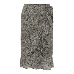 ONLY STAR WRAP SKIRT