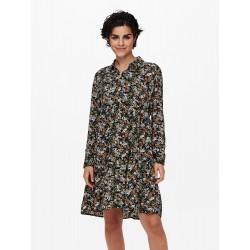JDY PIPER L/S SHIRT DRESS