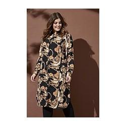 ZHENZI SEAGAL SHIRT DRESS L/S