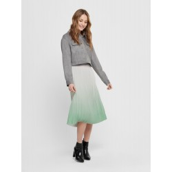 ONLY DIPPY SKIRT/ PLISSERET...