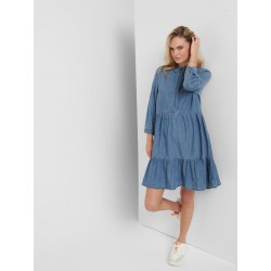 ONLY ENYA 3/4 DENIM DRESS