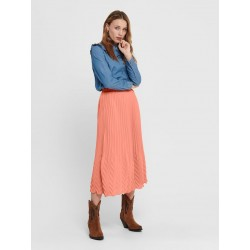 ONLY LINA MIDI SKIRT -...