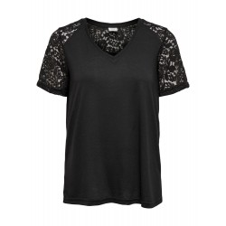 JDY  STINNE S/S LACE TOP