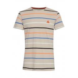 BLEND T-SHIRT STRIBET S/S