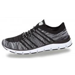 BORAS Sort og grå sneakers