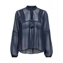 ONLY ELISA DOT BLOUSE