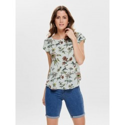 ONLY VIC S/S TOP PRINT