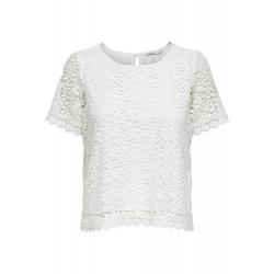 ONLY TRISSY LACE SS TOP -...