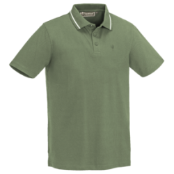 PINEWOOD POLO - MID GREEN