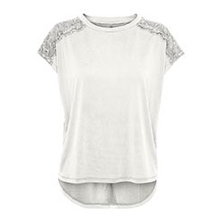 ONLY FREE LIFE S/S LACE TOP...