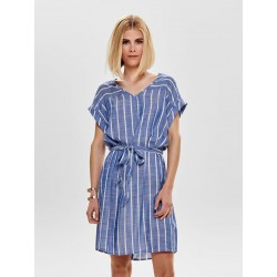 JDY JANINE S/S DRESS WVN
