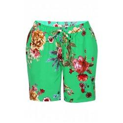 ZE-ZE shorts med blomster...