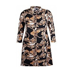 ZHENZI SEAGAL SHIRT DRESS L/S