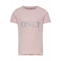KIDS ONLY LOGO LIFE S/S TOP