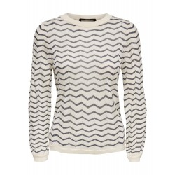 ONLY QUALICE L/S PULLOVER KNT
