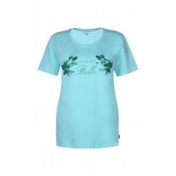 ZE-ZE T-shirt med print  og...